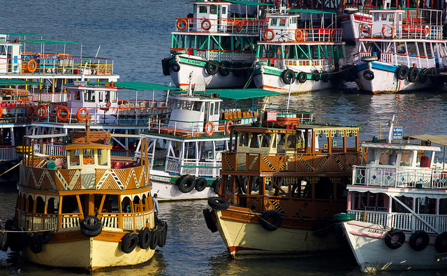 Excursion Boats for Elephanta Island