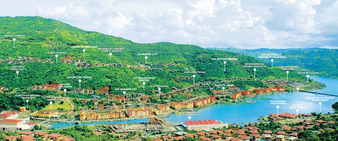 GIS map of Lavasa