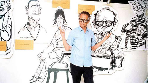 cartoons of r k laxman