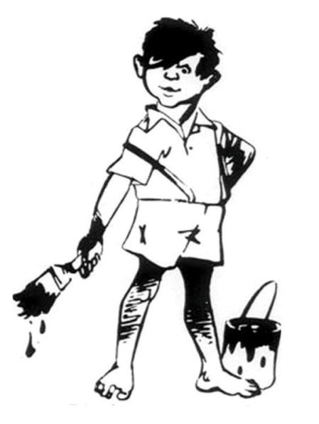 Asian Paints Mascot, Guttu