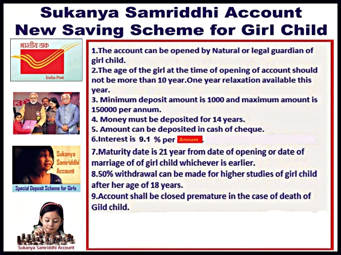 Sukanya Samriddhi Account Information