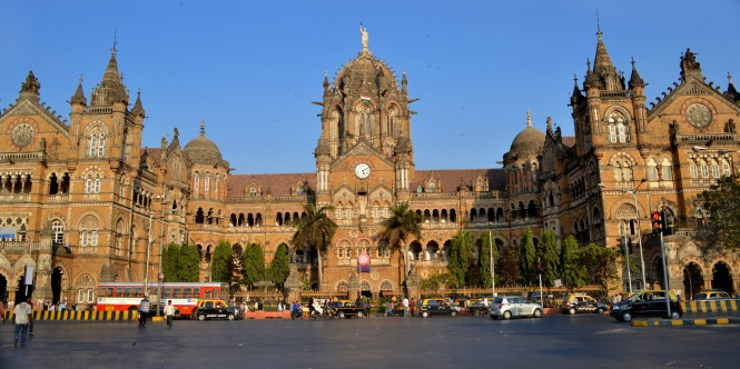 Chhatrapati Shivaji Terminus View