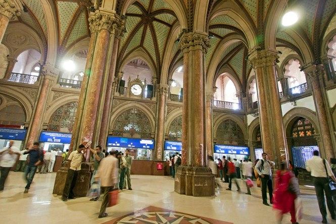 Inner Architecture of Chhatrapati Shivaji Terminus