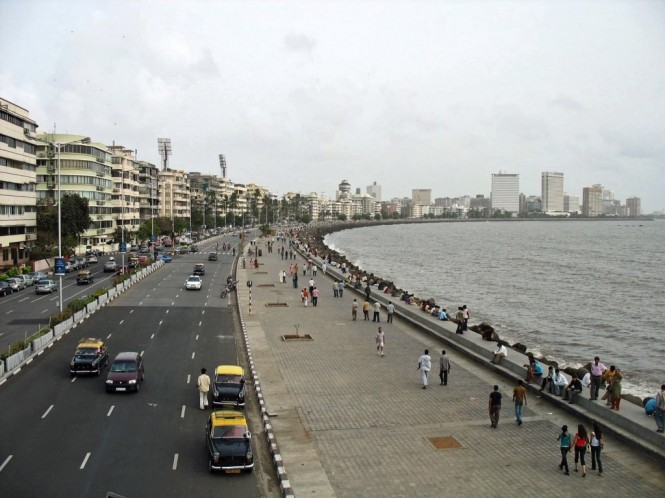 View of Marine Drive