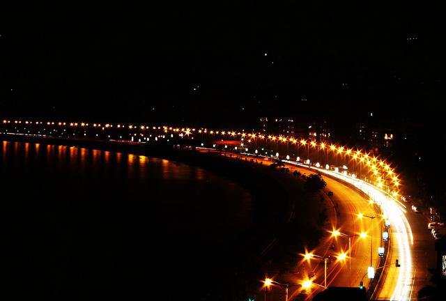 Marine drive Queen's Necklace