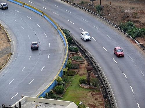 The Mumbai-Pune Expressway