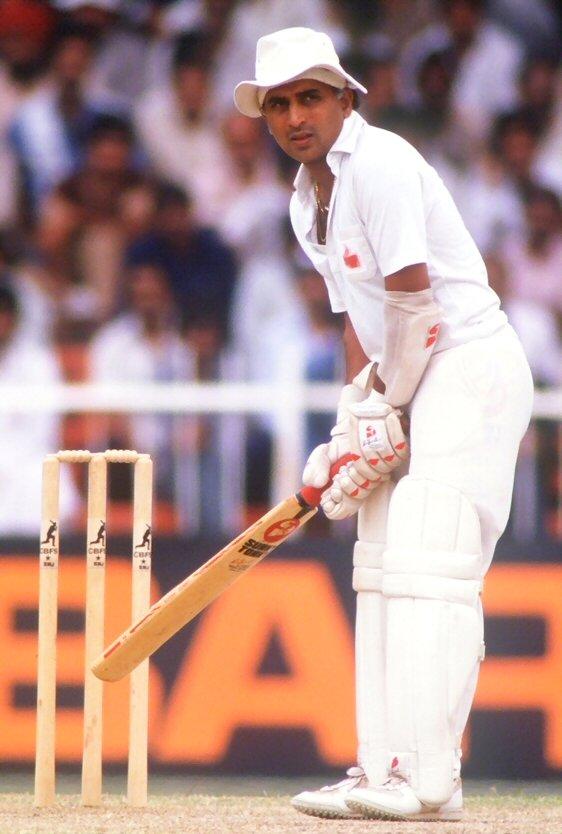 Young Sunil Gavaskar