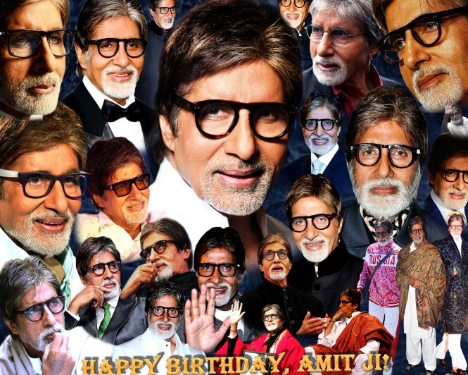 Happy Birhtday Amitabhji