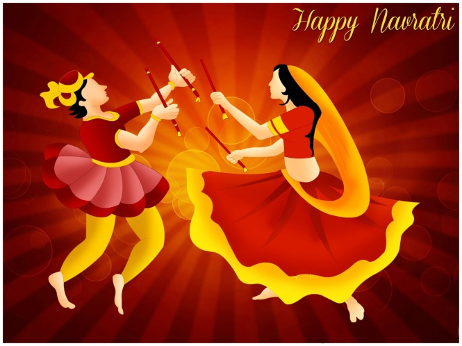 Happy Navratri Festival