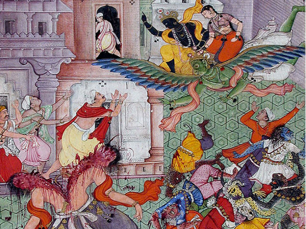 Lord Krishna had killed the demon Narakasura on Naraka Chaturdashi