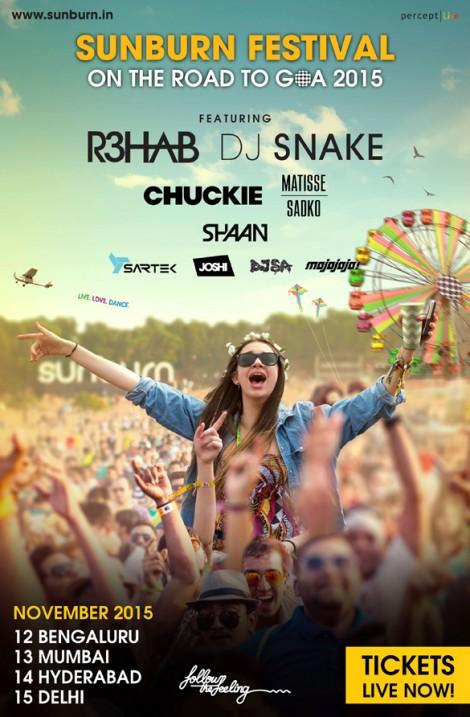 2015 Sunburn Festival Mumbai
