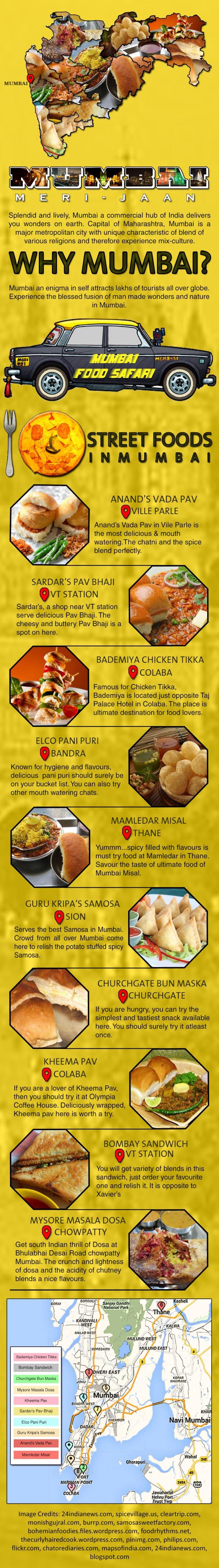 Top 10 street Food to enjoy in Mumbai